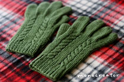 5本指の手袋
