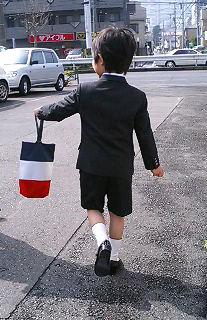 上履き入れ入学式