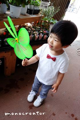 子供用の蝶ネクタイ