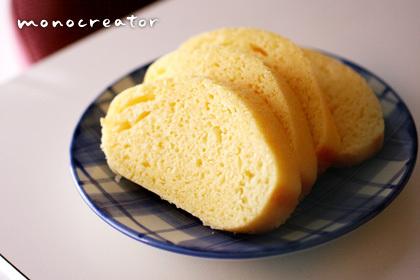 ホームベーカリー蒸しパン