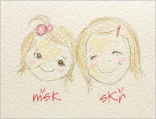 msk&skr似顔絵
