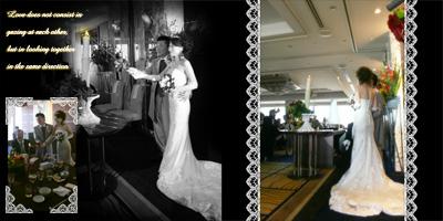 結婚式T&R写真集4