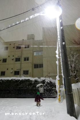 雪のバレンタインデー