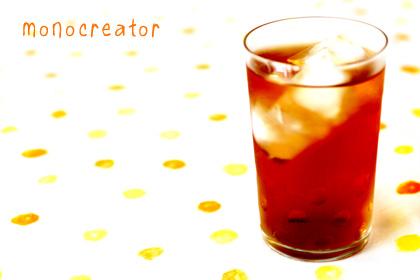 レトロ水玉グラス
