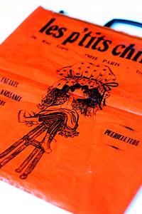 パリのバッグ
